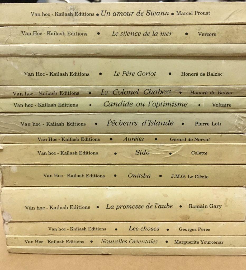 Truyện, sách tiếng Pháp P1