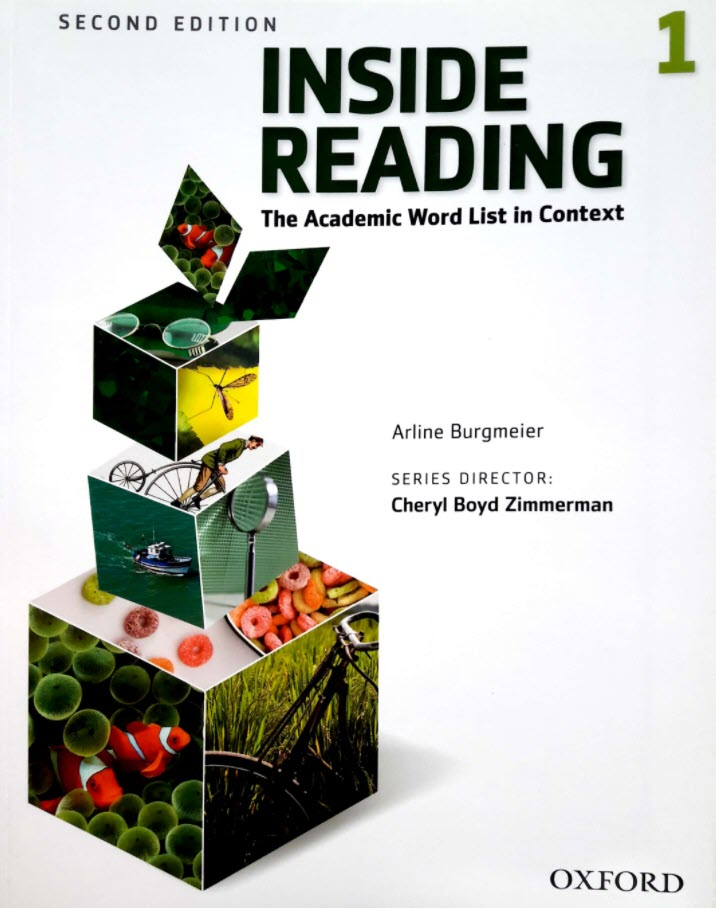 Inside Reading 1, second edition, The Academic Word List in Context, Arline burgmeier, Cheryl boyd Zimmerman, Oxford