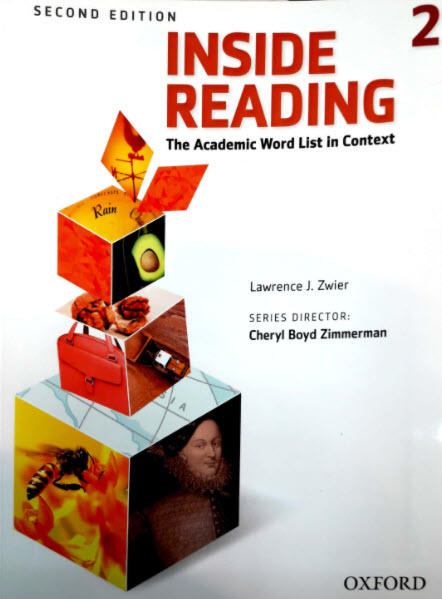 Inside Reading 2, second edition, The Academic Word List in Context, Lawrence J.Zwier, Cheryl boyd Zimmerman, Oxford