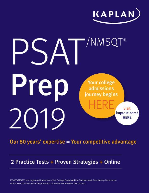 Kaplan PSAT / nmsqt prep 2019