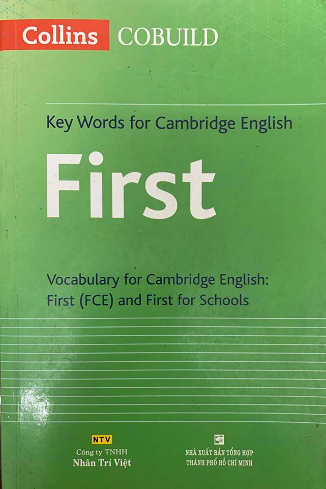 Key Words for Cambridge English First (Vocabulary for Cambridge English First (FCE) and First for Schools, Collins Cobuild