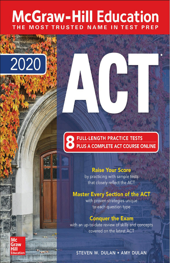 Mcgraw Hill Education - ACT 2020 , 8 full-length practice tests