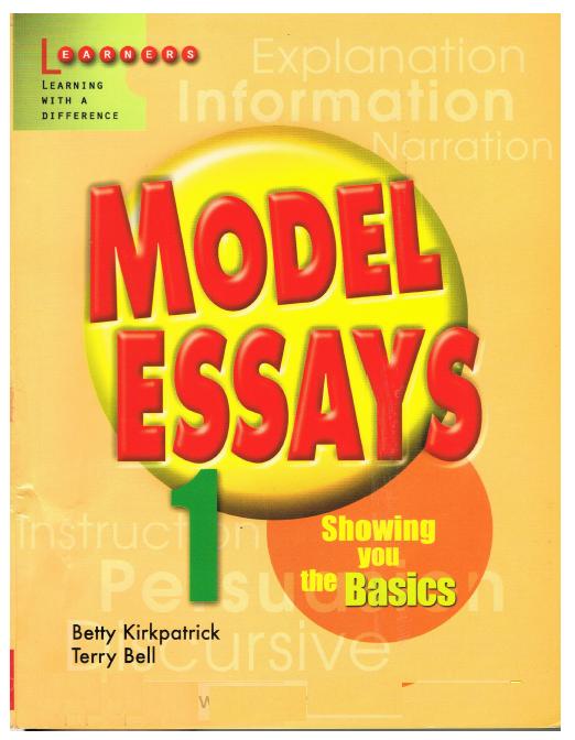 Model Essays 1 + 2 | Sách hướng dẫn viết văn tiếng Anh cho học sinh | Betty Kirkpatrick, Terry Bell | Learners