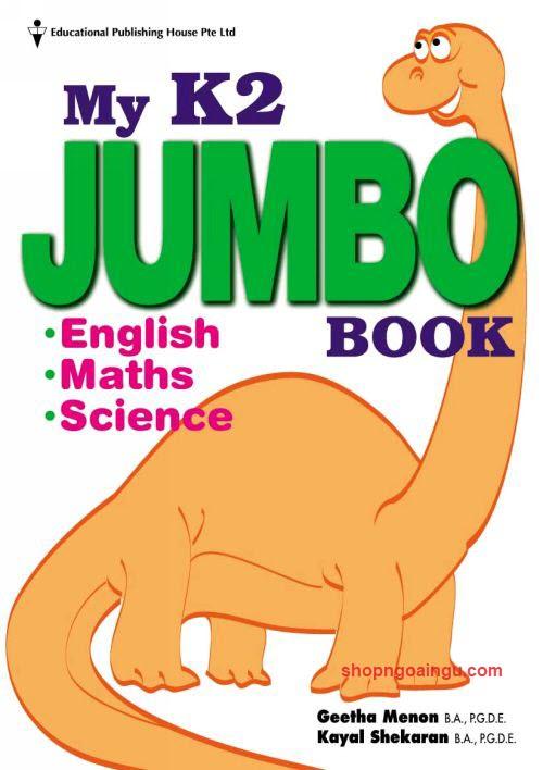 My K2 Jumbo book by Geetha Menon, Kayal shekaran (English, Maths, Science)