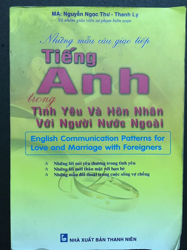 Những mẫu câu giao tiếp tiếng Anh trong tình yêu và hôn nhân với người nước ngoài - English communication patterns for love and marriage with foreigners