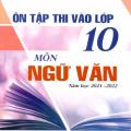 Ôn tập thi vào lớp 10 môn ngữ văn, 2021 - 2022, Nguyễn thị Nương, Chu Thị Lý