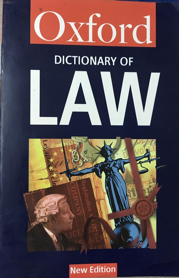 Oxford dictionary of Law new edition