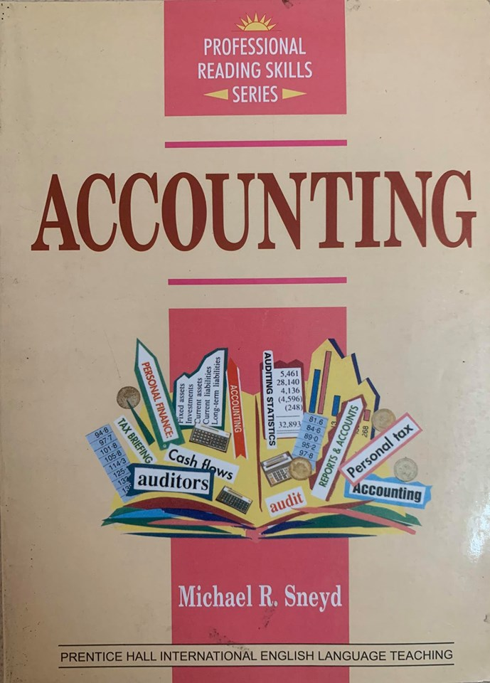 Professional Reading Skills Series, Accounting by Michael R. Sneyd