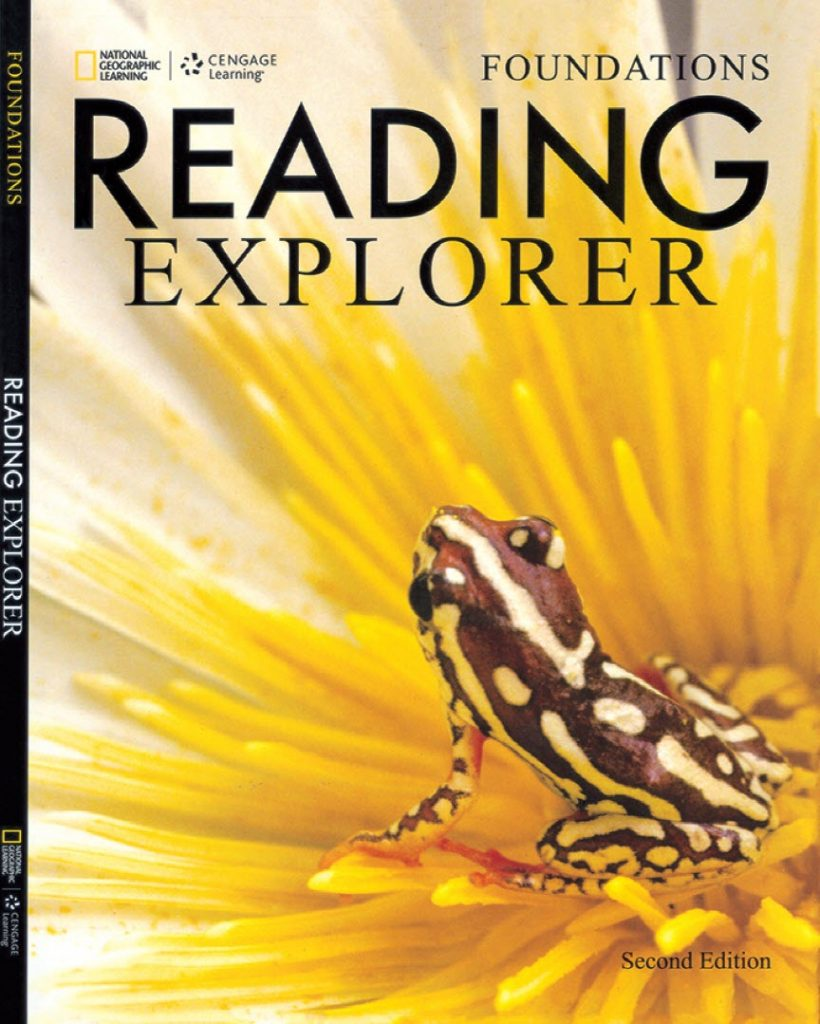 Reading explorer foundations, Student book + Mp3 +  Teacher's guide Becky Tarver-Chase, David Bohlke, National Geographic Learning, Cengage Learning