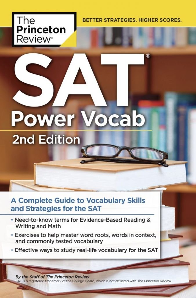 SAT Power Vocab, The Princeton Review - A complete guide to vocabulary skills and strategies for the SAT