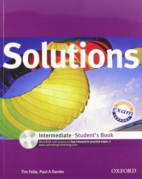 Solutions Intermediate Student's book, Oxford, Tim Falla, Paul A Davies