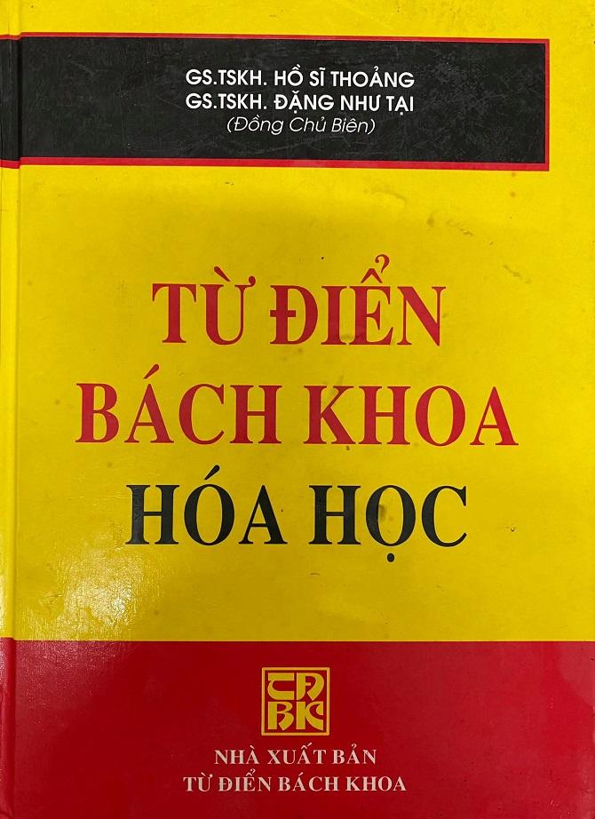 Từ điển Bách khoa hóa học, Hồ Sĩ Thoảng, Đặng Như Tại