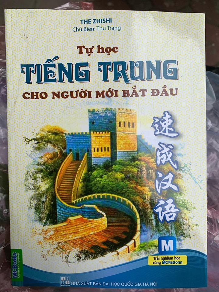 Tự học tiếng Trung cho người mới bắt đầu, The Zhishi, chủ biên Thu Trang