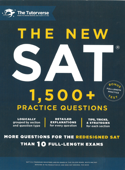 The new SAT 1500+ Practice Questions | The tutorverse
