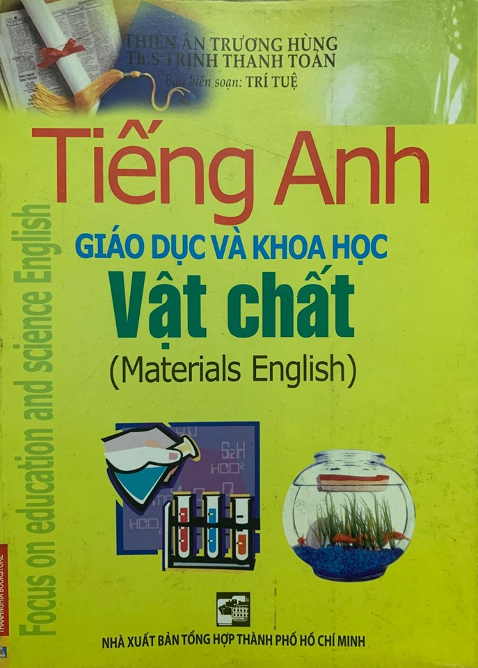 bộ sách tiếng anh chuyên ngành giáo dục, khoa học, cơ thể con người | Thiên Ân Trương Hùng, Trịnh Thanh Toản