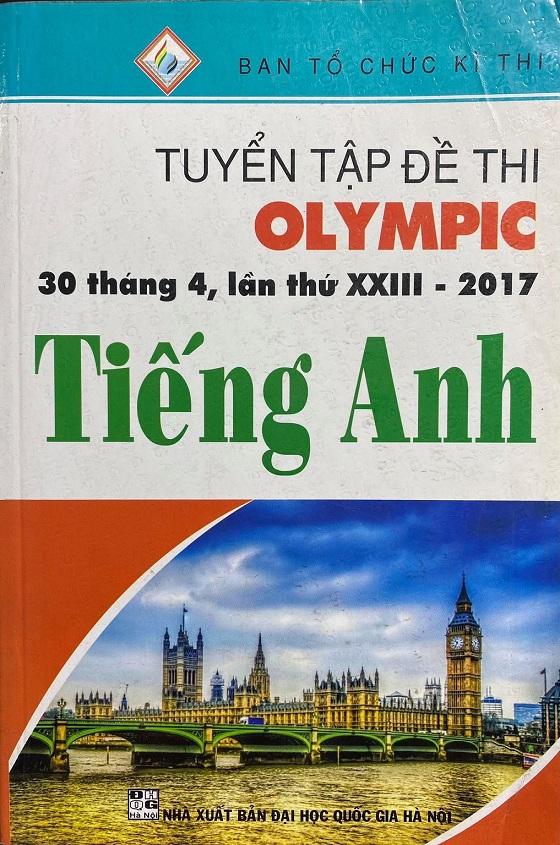Tuyển tập đề thi Olympic 30 tháng 4, lần thứ XXIII - 2017 Tiếng Anh