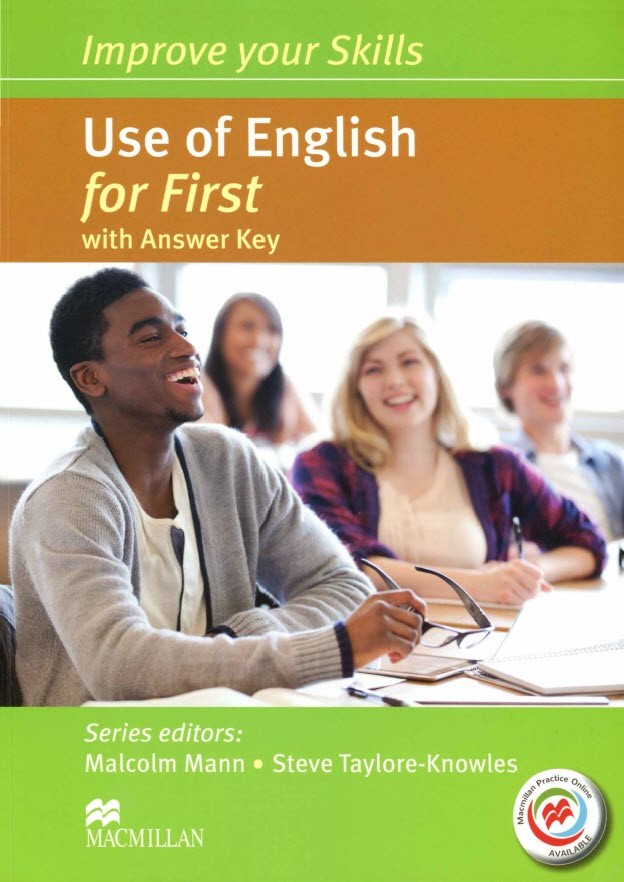 Use of English for First with Answer Key by Mann Malcolm, Taylore-Knowles Steve