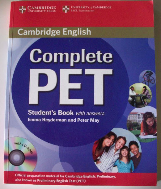 [thanh lý] Complete Pet Student's Book with answers | Cambridge English | Emma Heyderman and Peter May