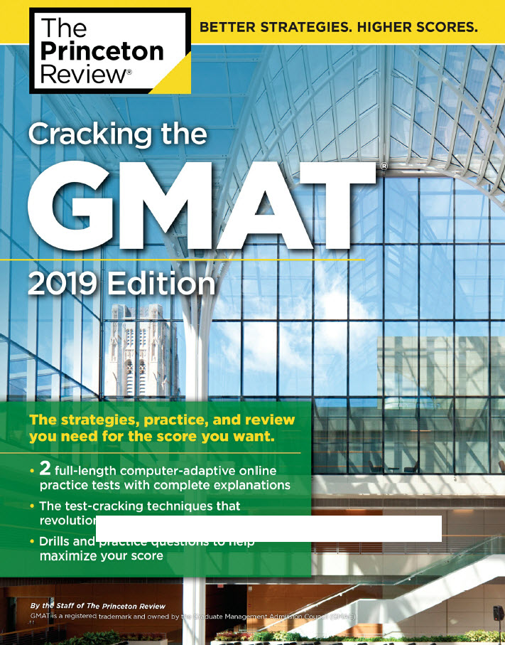 Cracking the GMAT with 2 Computer-Adaptive Practice Tests   The princeton review