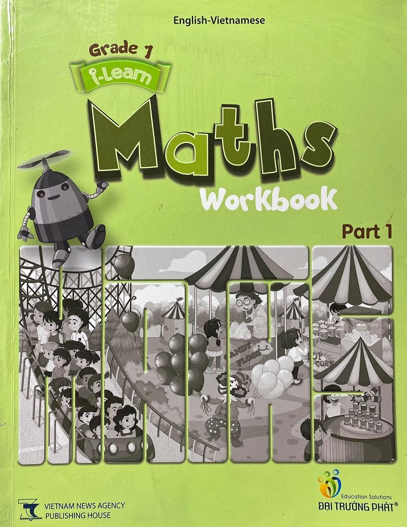 i-learn maths workbook, Grade 1