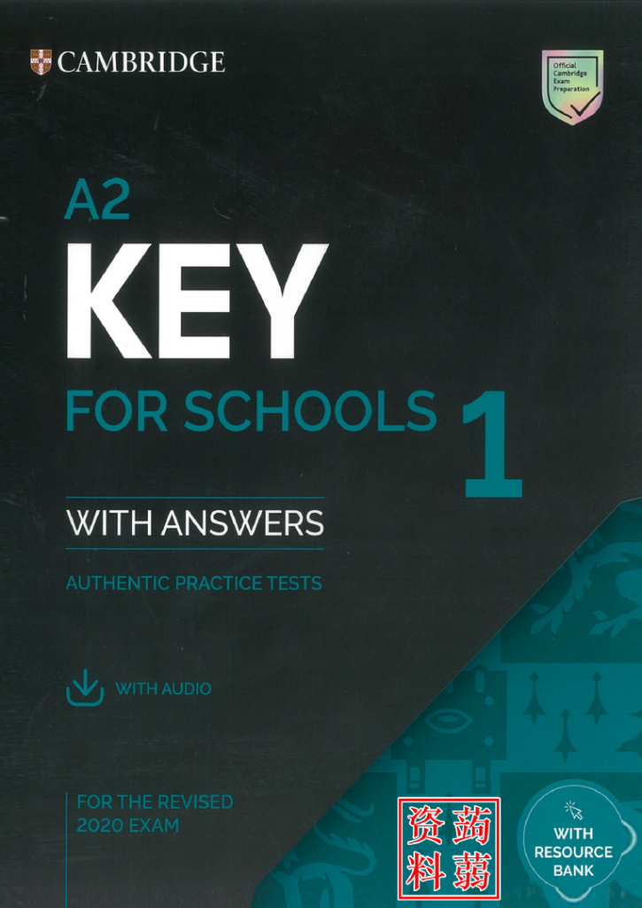 KET 2020 - Cambridge Key for School 2020 (A2) authentic practice tests with answers (Ket 2020)