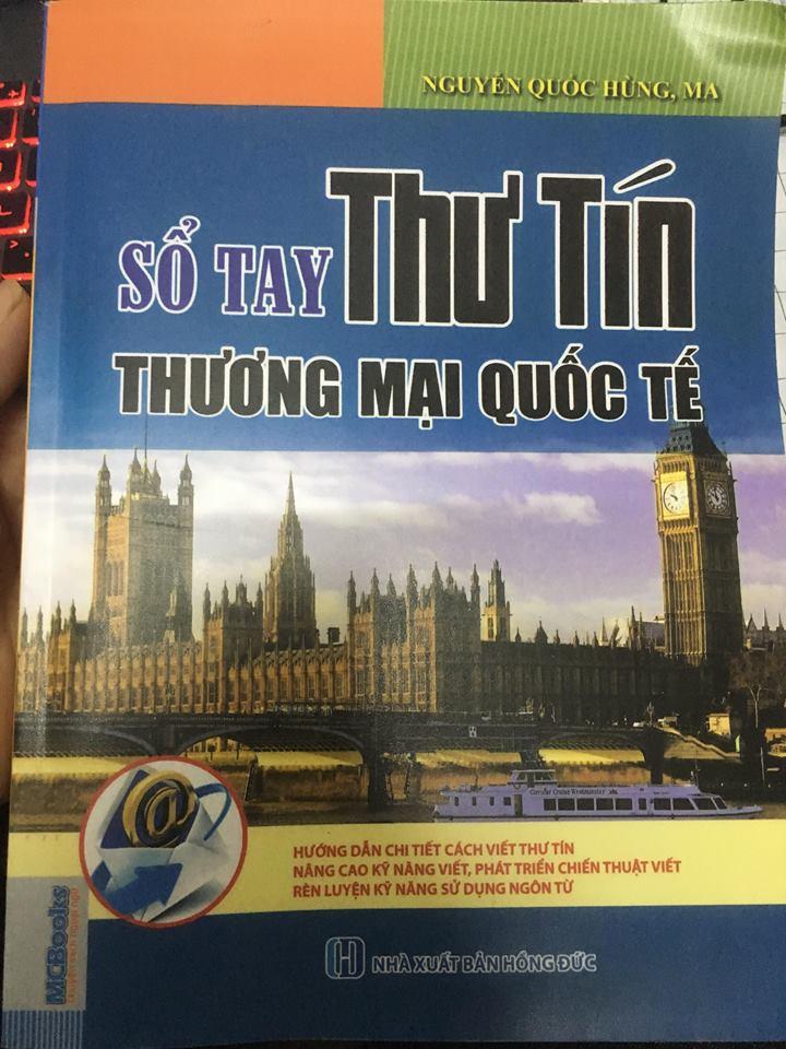 Sổ tay thư tín thương mại quốc tế - Nguyễn Quốc Hùng Ma