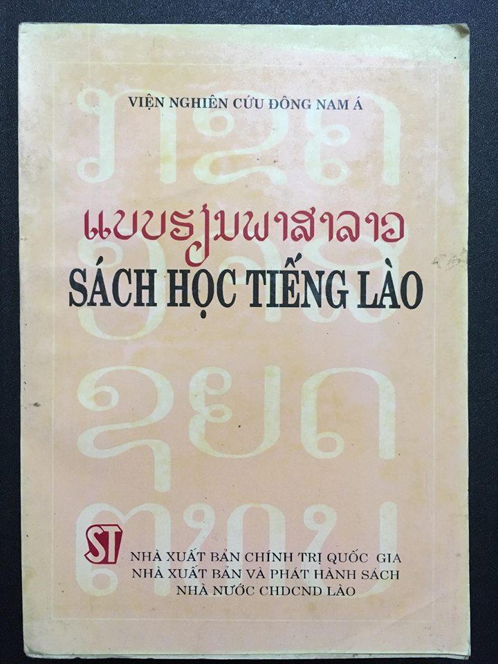 Sách học tiếng Lào - Viện nghiên cứu Đông Nam Á
