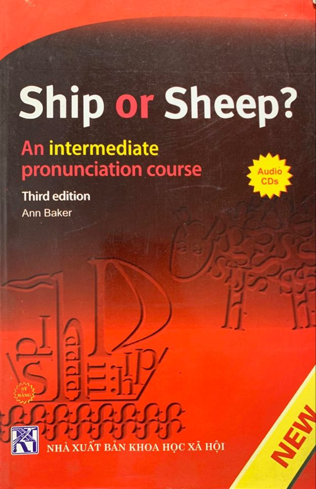 ship or sheep, an intermediate pronunciation course by Ann Baker