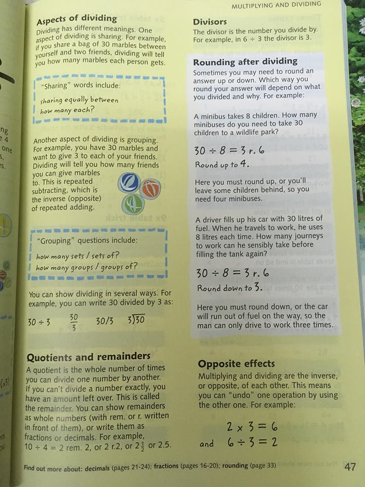The usborne Junior Illustrated Maths Dictionary | Từ điển toán minh họa THCS