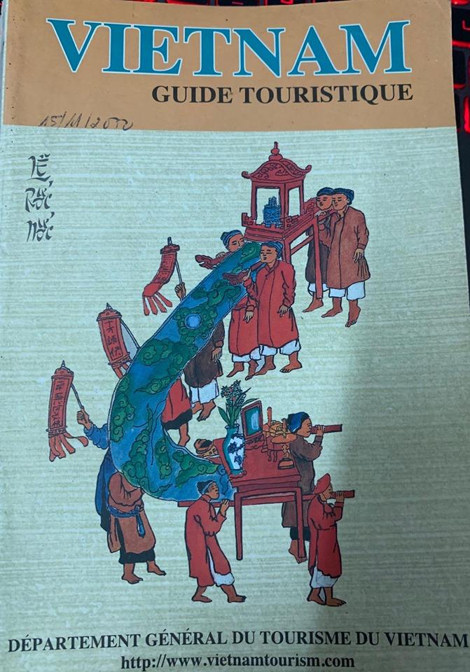 vietnam guide touristique (department general du tourisme) - sách du lịch Việt Nam bằng tiếng Pháp